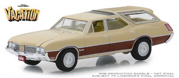 44840e - 1970 Oldsmobile Vista Cruiser -National Lampoon's Vacation (1983) -1:64