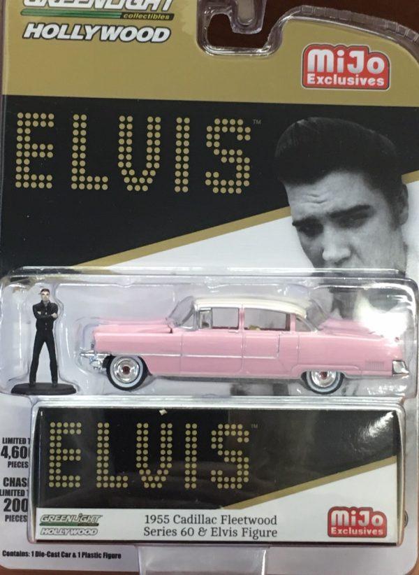 51210 - 1955 Cadillac Fleetwood Series 60 & Elvis Figure - MiJo Exclusive