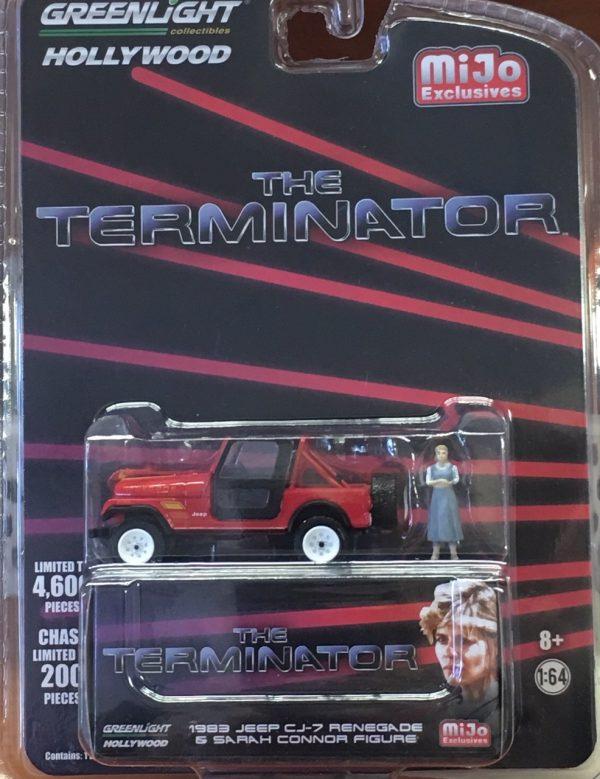 51211 - 1983 Jeep CJ-7 Renegade comes with Sarah Connor Figurine (The Terminator)
