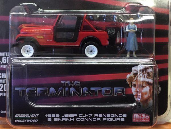 51211a - 1983 Jeep CJ-7 Renegade comes with Sarah Connor Figurine (The Terminator)