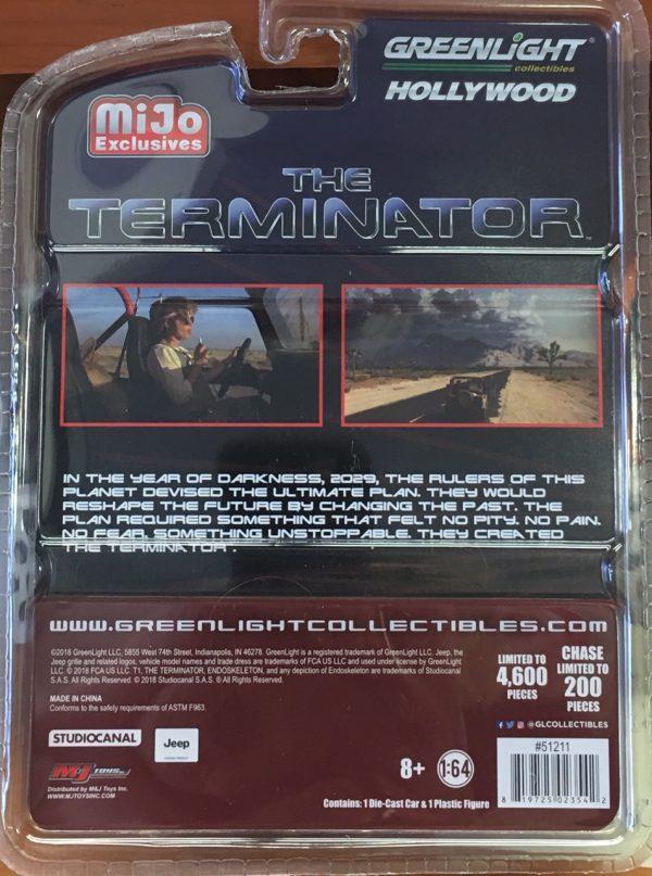 51211b - 1983 Jeep CJ-7 Renegade comes with Sarah Connor Figurine (The Terminator)