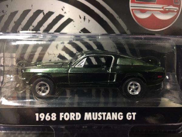51226 1 - 1968 FORD MUSTANG - BULLITT - CHROME VERSION