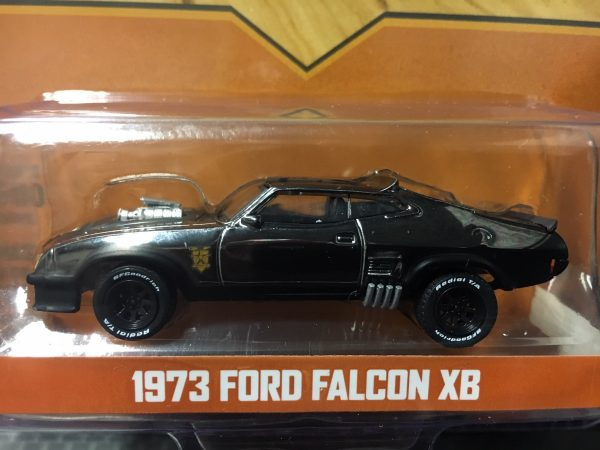51229 2 - 1973 Ford Falcon XB- Last of the V8 Interceptors- Chrome Edition Black 1:64