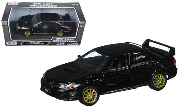 73330bk - Subaru Impreza WRX STi -Black 1/24