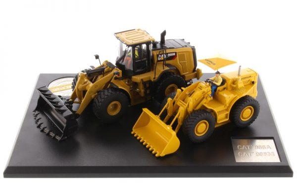 85558 - Caterpillar 966A Wheel Loader (Circa 1960-1963) and Caterpillar 966M Wheel Loader (Current)