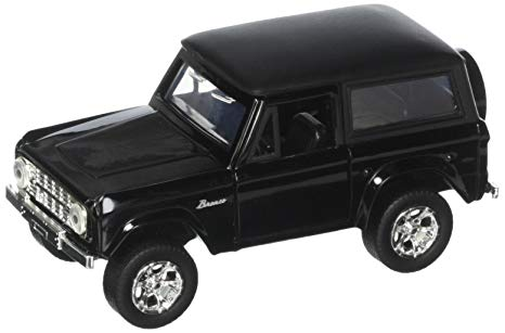 97050bk - 1973 Ford Bronco Truck- 1:32 Black