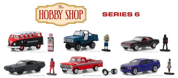"""97060 case - 1971 Dodge Challenger """"Shakedown"""" (SEMA Concept) with Race Car Driver-The Hobby Shop Series 6 -1:64"""