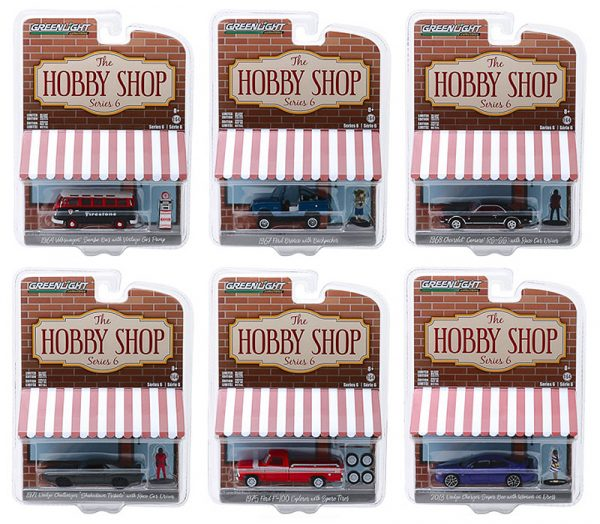 """97060case - 1971 Dodge Challenger """"Shakedown"""" (SEMA Concept) with Race Car Driver-The Hobby Shop Series 6 -1:64"""