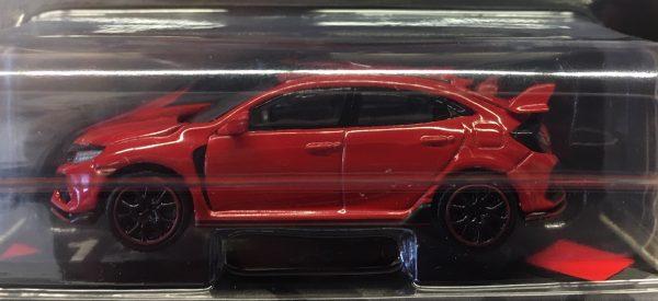 mgt00012a - 2017 Honda Civic Type R in Rallye Red - MINI GT - TSM Models