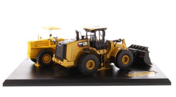 v1 85558 - Caterpillar 966A Wheel Loader (Circa 1960-1963) and Caterpillar 966M Wheel Loader (Current)