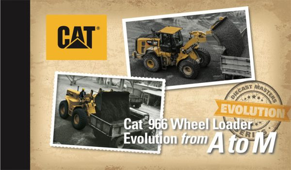 v5 85558 - Caterpillar 966A Wheel Loader (Circa 1960-1963) and Caterpillar 966M Wheel Loader (Current)