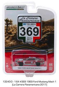 13240d1 - #369 1969 Ford Mustang Mach 1 (La Carrera Panamericana 2017