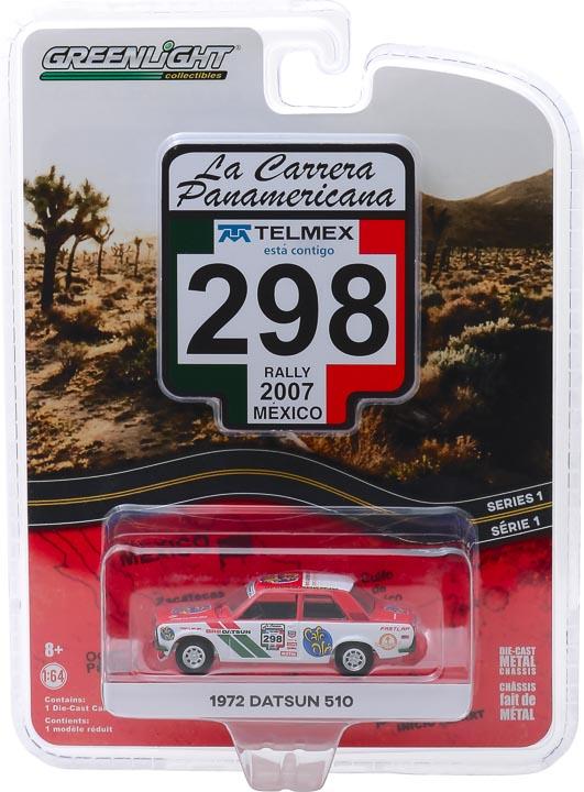 13240f 1 - #298 1972 Datsun 510 - La Carrera Panamericana 2007