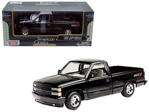 73203bk2 - 1992 Chevy 454 SS Pickup- Black 1:24