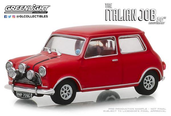86550 1 - 1967 Austin Mini Cooper S 1275 Mk. I in Red with Black Leather Straps - The Italian Job (1969)