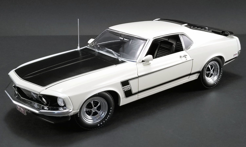 1969 ford mustang boss 302 white