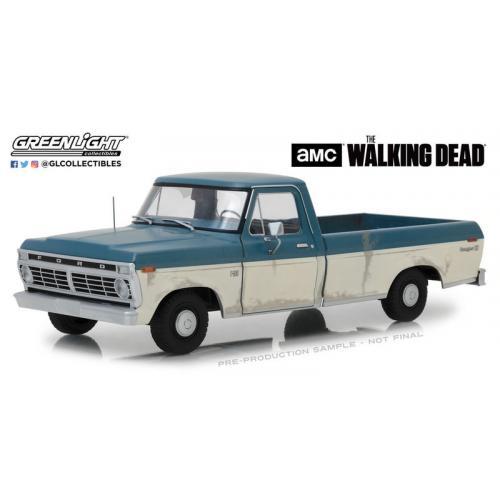 12956a - 1973 Ford F-100 Pickup Truck - Walking Dead TV Show