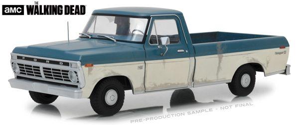 12956d - 1973 Ford F-100 Pickup Truck - Walking Dead TV Show