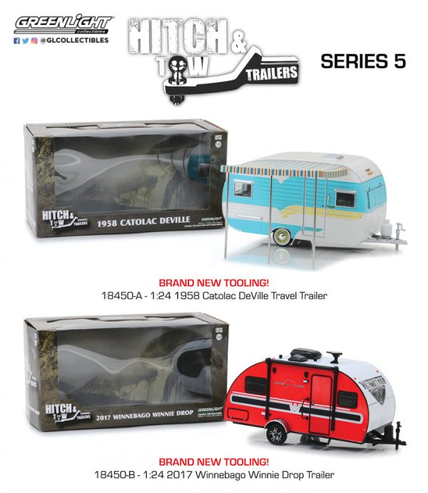 18450 - 1958 Catolac DeVille Travel Trailer- Hitch and Tow Trailers Series 5