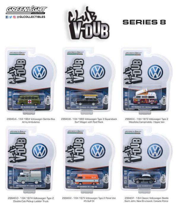 29940 - Gulf Oil #5 - 1975 Volkswagen Type 2 Panel Van- V-DUB Series 8