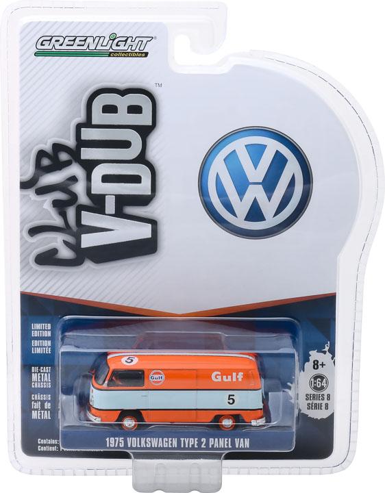 29940e - Gulf Oil #5 - 1975 Volkswagen Type 2 Panel Van- V-DUB Series 8