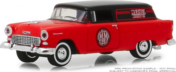35120a - Marvel Mystery Oil - 1955 Chevrolet Sedan Delivery- Blue Collar Series 5