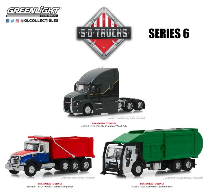 2019 Mack Anthem Truck Cab - S D Trucks Series 6