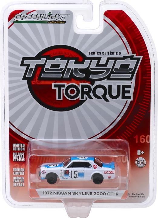 47030c - 1972 Nissan Skyline 2000 GT-R - #15 K. Takahashi 1972 Fuji 300km Speed Race- Tokyo Torque Series 5