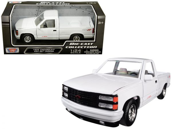 73203w - 1992 Chevrolet 454SS Pickup- White 1:24