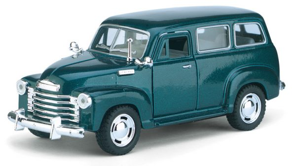 kt5006d1 - 1950 Chevy Suburban - 1:36 scale - Pull back action by Kinsmart