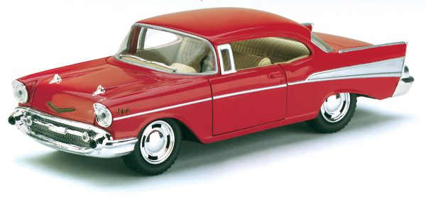 kt5313d - 1957 Chevy Bel Air - Pull Back Action in 1:40 scale