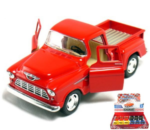 """kt5330d - 1955 Chevy Stepside- 5"""" -NOTE ONLY HAVE YELLOW, BLUE OR BLACK LEFT"""
