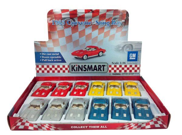 "kt5358d1 - 1963 Corvette Stingray- 5"""