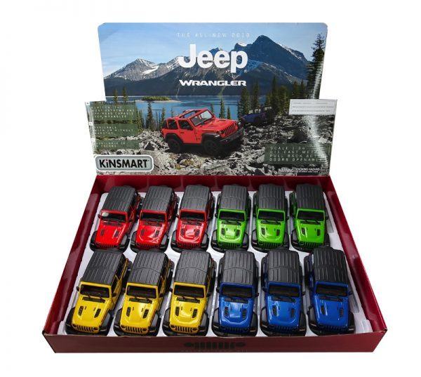 "kt5412db 1 - 2018 Jeep Wrangler Hardtop- 5"""