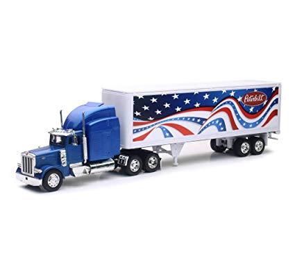 ss12333 - Peterbilt 379 Patriotic Truck- 1:32