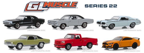 13250 case - 1968 PLYMOUTH ROAD RUNNER HEMI - SILVER - GL MUSCLE SERIES 22