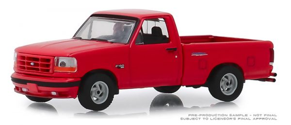 13250 e - 1993 FORD F-150 LIGTNING TRUCK - GL MUSCLE SERIES 22 -RED