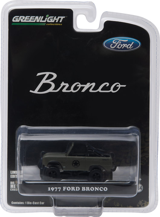 """29842 - 1977 Ford Bronco Military Tribute """"Sarge 77"""" (Hobby Exclusive)"""