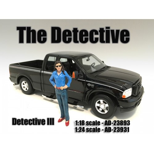ad23893 - The Detective - Detective III figurine