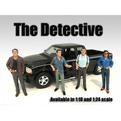 detective set - The Detective - Detective III figurine