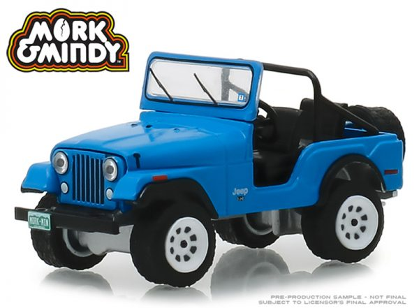 v1 44830a - 1972 JEEP CJ-5 BLUE - HOLLYWOOD SERIES 23 - MORK AND MINDY