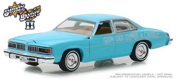 "v2 44830b - 1977 Pontiac LeMans ""Wedding Car"" -Smokey and the Bandit(1980)"