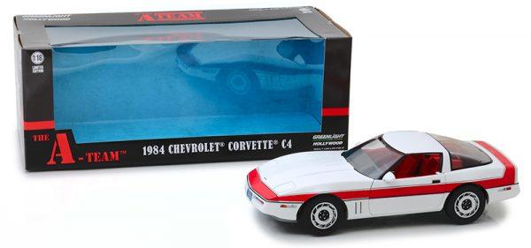 13532b - 1985 Chevrolet Corvette C4 - The A-Team (TV Series, 1983-87)