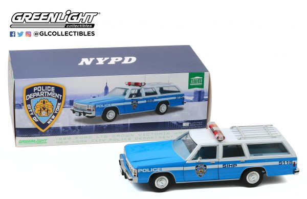 19062a - 1988 Ford LTD Crown Victoria Wagon - New York City Police Dept (NYPD)
