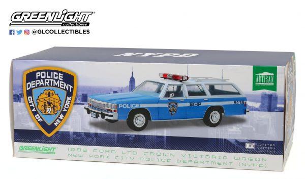 19062b - 1988 Ford LTD Crown Victoria Wagon - New York City Police Dept (NYPD)