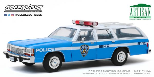 19062c - 1988 Ford LTD Crown Victoria Wagon - New York City Police Dept (NYPD)
