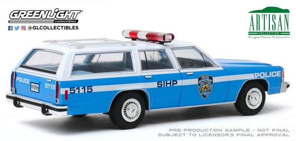 19062d - 1988 Ford LTD Crown Victoria Wagon - New York City Police Dept (NYPD)