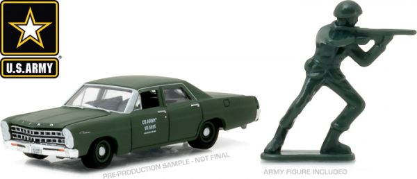 29883 - 1967 Ford Custom - U.S. Army with U.S. Army Soldier Figure (Hobby Exclusive)