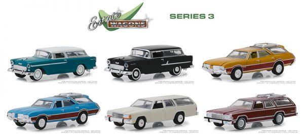 29950 case - Estate Wagons Series 3 - 1972 Oldsmobile Vista Cruiser - Viking Blue and Wood Grain