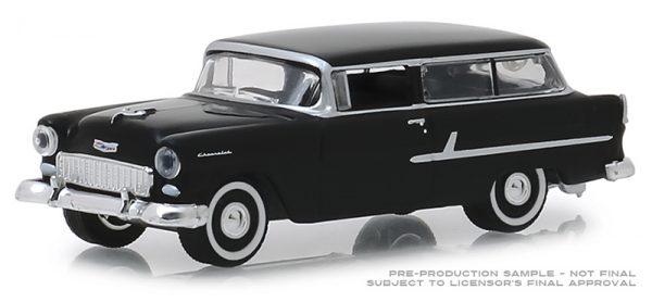 29950b - Estate Wagons Series 3 - 1955 Chevrolet Two-Ten Handyman - Onyx Black